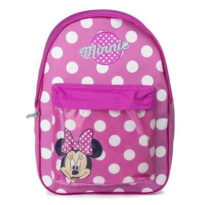 Disney Minnie Mouse Rucksack Rosa