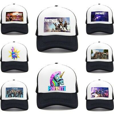 outlet store 62360 42c44 Fortnite Battle Royale Kids Snapback Cap Boy Girls Hat PS4 PC Mobile Game  PE GYM