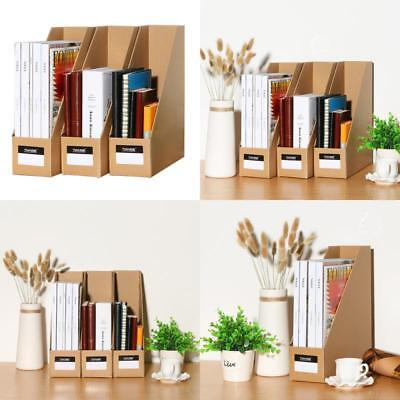 Superb Tianse File Magazine Holder, Desk Storage Organizer For Office Home, Kraft  Paper