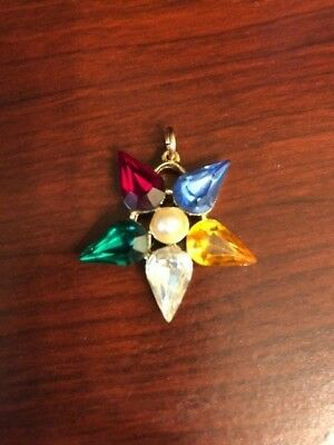 Vintage Order of The Eastern Star Charm