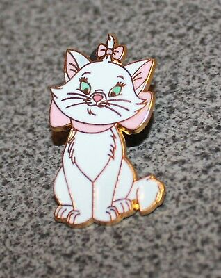 Disney Pin Marie The Aristocats Sitting With Pink Bow Full Figure