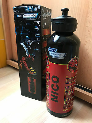 ORIGINAL Nico Hülkenberg Williams F1 Drink Bottle 2010 USED WORN BY NICO **TOP**