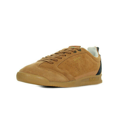 Camel 18 Kickers Homme Chaussures Baskets Cuir Kick Cognac Lacets Taille trshdQ