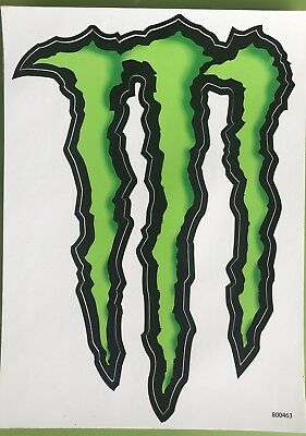 LARGE 14x10 Monster Energy Decal sticker