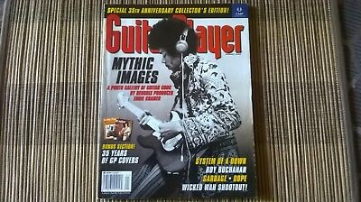Guitar Player Magazine 35th Anniversary Back Issue Jan. 2002