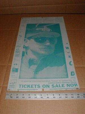 Dale Earnhardt vtg 2001 Newspaper Metal Printing Plate full face Goodwrench hat
