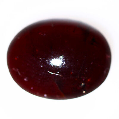 8.390 Ct Exclusive Brilliant! 100% Natural Top Red Garnet Star Unheated Cab !!!