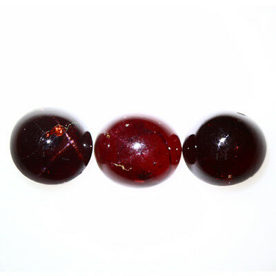 19.880 Ct Exclusive Brilliant! 100% Natural Top Red Garnet Star Unheated Cab !!!