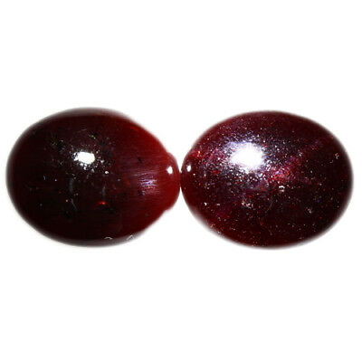 21.010 Ct Exclusive Brilliant! 100% Natural Top Red Garnet Star Unheated Cab !!!
