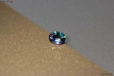 0.200 Ct Unique 100% Nr' Dancing Color Change Alexandrite Gemstone Aaa Oval !!!!