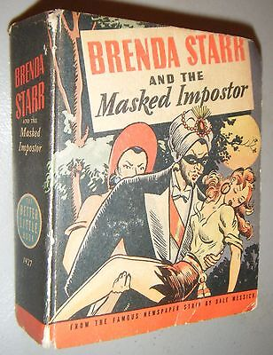 Brenda Starr & The Masked Imposter  Dale Messick 1943 Better Little Book 1427