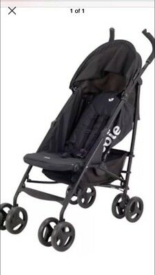Joie Black Nitro Stroller/buggy With Raincover