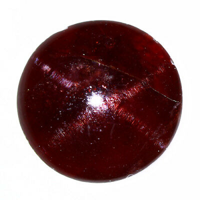 7.550 Ct Exclusive Brilliant! 100% Natural Top Red Garnet Star Unheated Cab !!!