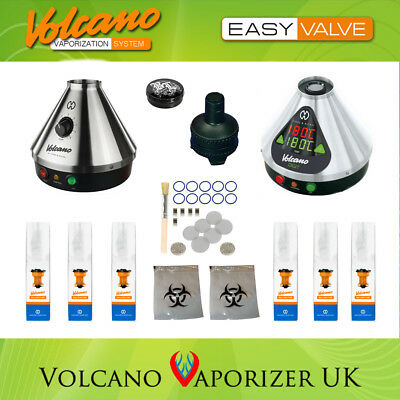 Volcano Vaporizer Classic or Digit + Easy Valve + 1 Year Supply Spare Parts 2019