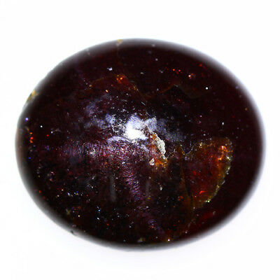 20.365 Ct Exclusive Brilliant! 100% Natural Top Red Garnet Star Unheated Cab !!!