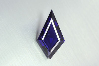 "10.55 Ct DAZZLING PURE CUT RARE LUSTROUS ""TANZANITE HUE""TOP BLUE NATURAL IOLITE!"