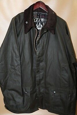 #153  Barbour 'Classic Beaufort' Relaxed Fit Waxed Cotton Jacket Size 50