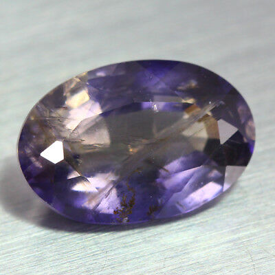 5.790 Ct Ultra Rare Best Grade Unheated 100% Natural Super Blue Iolite Gem !!!