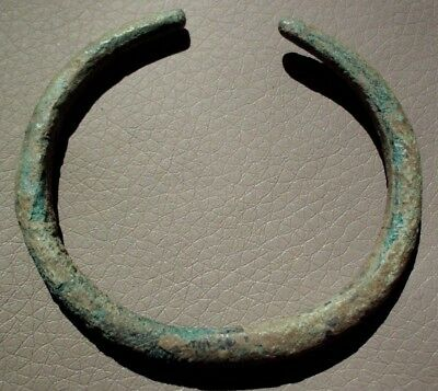 Intact Bronze Age Illyrian Women Bracelet  - 1000 Bc. - Rare