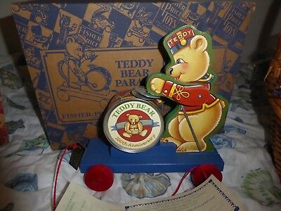 Fisher Price Toyfest Teddy Bear Parade With Certificate New In Box