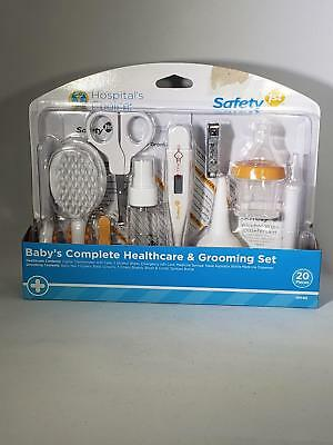 Safety 1st Complete Healthcare And Grooming Set - Baby's Gift Kit - 20 Pieces