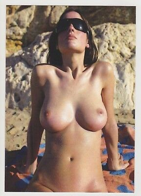 Postcard Pinup Risque Nude Stunning Girl Extremely Rare LAST ONE Post Card 8266