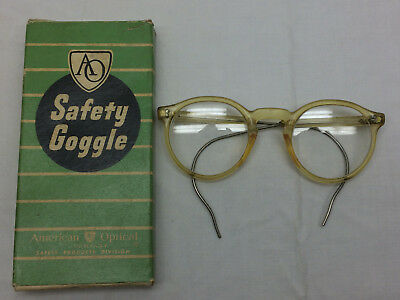 Vintage American Optics Safety Goggle Goggles in Box Glasses