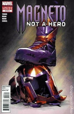 Magneto Not a Hero #3 2012 FN Stock Image