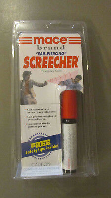 "Mace Screecher Personal Safety / Emergency Air Alarm ""ear piercing"" !SALE!"