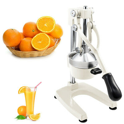 Heavy Duty Commercial Bar Citrus Press Fruit Manual Squeezer Juicer White
