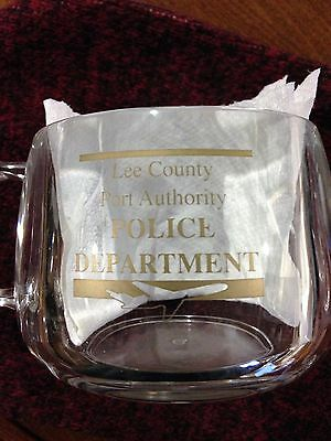Lee County (FL) Port Authority Police Department Coffee Cup