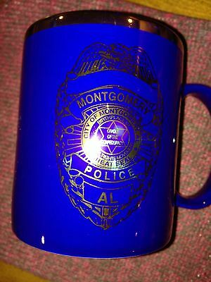 Montgomery (AL) Police Department Coffee Cup