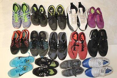 NIKE Lot Wholesale Used Shoes Rehab Resale FOURTEEN PAIR Collection  z^pZ