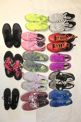NIKE Lot Wholesale Used Shoes Rehab Resale THIRTEEN PAIRS Collection zNts