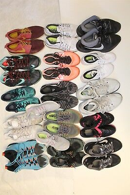 NIKE Lot Wholesale Used Shoes Rehab Resale SIXTEEN PAIRS Collection zCf