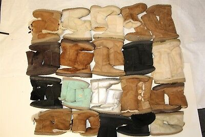 UGG Lot Wholesale Used Boots Rehab Resale HUGE Collection Various Sizes zWkR
