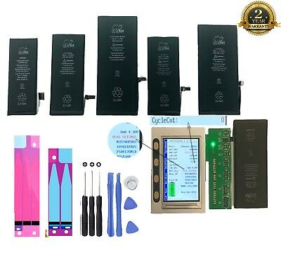 New Replacement Internal Battery for iPhone 4 4s 5 5c 5s 6 6s 7 Plus + Tools Kit