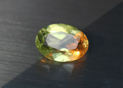 2.37 Cts_Amazing Gem Miracle Collection_100%natural Color Change Diaspore_Turkey