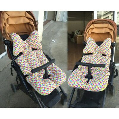 Baby Kids Stroller Pram Warm Soft Seat Liner Pushchair Cotton Pad Mat Cushion