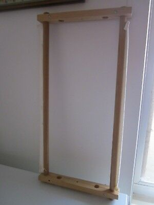 Wooden Tapestry/Long Stitch Frame 54 X 29 CM   preowned