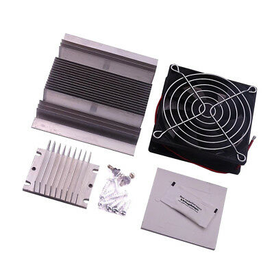 Thermoelectric Peltier Refrigeration Semiconductor Cooling System DIY KIT