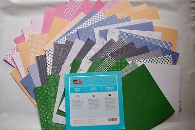 Stampin Up Patterns Pack II 6x6 Stack Pack - CardMaking Photo Mounting paper
