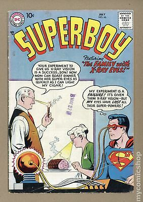 Superboy (1st Series DC) #66 1958 GD/VG 3.0