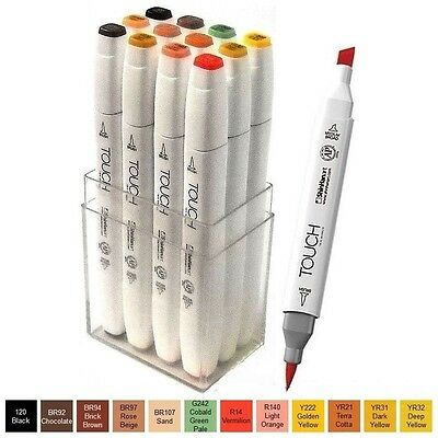 ShinHan Touch Brush Marker Autumn Colors