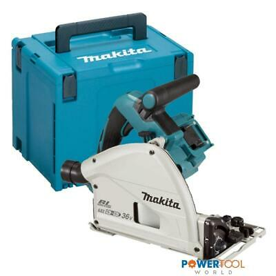 Makita DSP600ZJ Twin 18v LXT Cordless Plunge Saw 165mm Body Only in Makpac Case