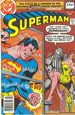 SUPERMAN 331-342 - complete 1979 VOLUME- 12 ISSUES - DC COMICS *FREE UK POSTAGE*