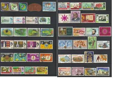 (710) Bahamas Used Collection Incl Sets, Ms & Mnh