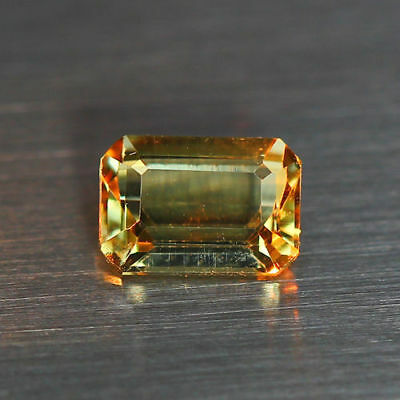 0.74Cts_Flawless_Emerald Cut_100 % NATURAL COLOR CHANGE  DIASPORE_TURKEY