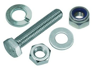 M3 x 10mm Nut, Bolt & Washer Set - Stainless Steel (Drop Down Box Options)