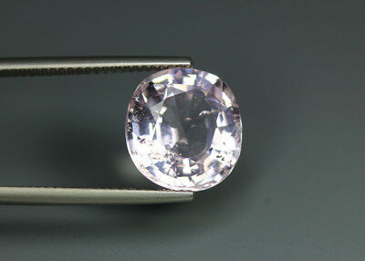 6.01 Cts_Rare Unique Hi-End Collection_100 % Natural Unheated Pink Morganite